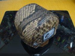 画像1: ハンドメイドリールカバー5000fit パイソンブラウン